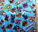 キャラクター 生地 布 アプリモンスターズ(ブルー)( 2018 )【生地】【布】【キャラクター生地】【入園】【入学】
