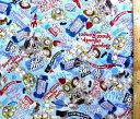 トイストーリー(ブルー)#26(材料セット レシピ付き・キルティング)レッスンバック(またはピアニカケース)とシューズケース用手作りキット(キャラクター 生地 材料キット )【ゆうパケット(メール便)OK】
