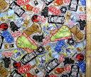 スターウォーズ(グレー)#31(材料セット レシピ付き・キルティング)レッスンバック(またはピアニカケース)とシューズケース用手作りキット(キャラクター 生地 材料キット )【ゆうパケット(メール便)OK】