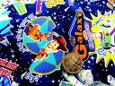 生地キャラクター お手軽 セット トイストーリー(紺)#31( 2018 - 2019 ) (生地40cm+縫い糸1個+ひも2m) 布 手芸