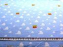 キャラクター 生地 トイストーリー ( ブルー ) 柄番号37 ( 2019 - 2020 ) シーチング ( 布 綿100% ) 生地幅−約104cm ( ディズニー トイ ストーリー ウッディ バズ 壁紙 雲柄 ) 3