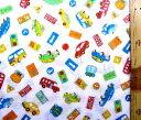ダブルガーゼ生地 布 カッコイイ 車 ( オフ ) ( 綿100% ) 生地幅−約105cm ( 商品の特性上、柄が多少歪んでいる場合がありますのでご了承ください。 )( くるま 自動車 のりもの マスク ハンカチ スタイ 赤ちゃん ベビー )