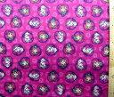 キャラクター アメリカ 輸入 生地 アナと雪の女王 ( ネル生地 濃ピンク ) 柄番号8USAコットン 直輸入 ( あな雪 アナ雪 アナ エルサ オラフ ディズニー )