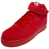 NIKE ナイキ AIR FORCE 1 MID 07 エアフォース1ミッド gym red/gym red/white ジムレッド/ジムレッド/ホワイト AF1 315123-609 17SP