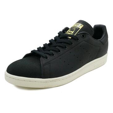スニーカー アディダス adidas スタンスミスプレミアム ブラック/ホワイト メンズ レディース シューズ 靴 18FW