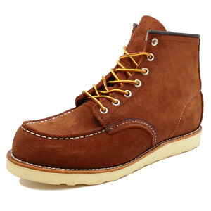 "RED WING 8810 Classic Work 6"" Moc-toe 【レッドウイング 8810 クラシックワーク 6インチ モックトゥ】Copper Abilene Roughout(カッパー アビレーン ラフアウト)"