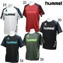 JR ドライ Tシャツ【hummel】ヒュンメル ジュニア サッカー プラシャツ19SS(HJY2083)*51の商品画像