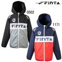 ジュニアウィンドジャケット 【FINTA】フィンタ JR サッカー フットサル ウェア ウインドブレーカー 20FW(FT8456)*50