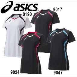 WSゲームシャツHS【asics】アシックス レディース バレーボールウェアー (XW1317)*28
