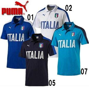 イタリア代表FIGCイタリアFANWEARポロシャツ【PUMA】プーマ●イタリアレプリカウェア16SS(750420)