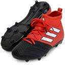 エース 17.1 FG/AG J【adidas】アディダス ジュニア サッカースパイク17SS(BA9214)*50