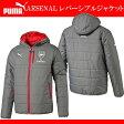 ARSENAL レバーシブルジャケット【PUMA】プーマ● サッカーコート(749740-04)*61
