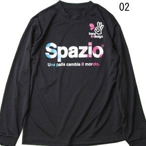 カラードットロングプラクティスシャツ【spazio】スパッツィオプラシャツウェア15fw27au28fe(ge0307)