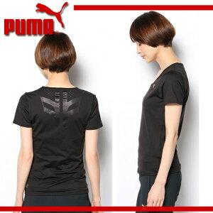 半袖Tシャツ(WOMEN)-Fitnessgym【PUMA】プーマ陸上●ランニングウェアレディース(511808)