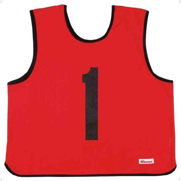 ゲームジャケット レギュラーサイズレッド【MIKASA】ミカサマルチSP11FW mikasa(GJR2R)*20