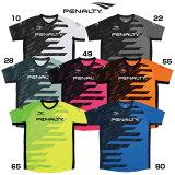 ダイヤゴナルラインドプラトップ 半袖【penalty】ペナルティーウェア フットサル20ss r2jar2ju(pu0008)*17