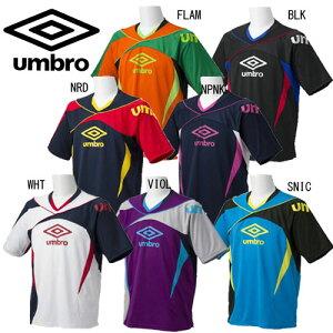 S/Sプラクティスシャツ【umbro】アンブロサッカープラシャツ半袖13SS(UBS7327)