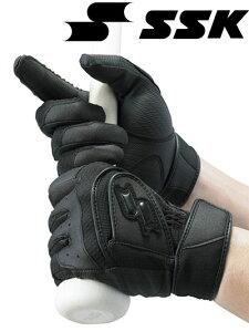 高校野球対応ダブルハンド手袋(両手用)デジグラブ【SSK】エスエスケイ特価バッティングテブクロ13SS(BG307W)
