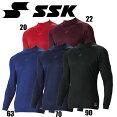 SC.αハイネック長袖アンダーシャツ【SSK】エスエスケイアンダーシャツ13ss(SCA100HL)