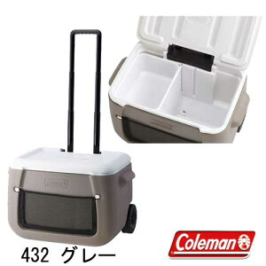 パーティースタッカーホイール付/50QT【coleman】コールマンクーラーボックス13SS(2000010-014/015/016/432)<発送に2〜5日掛る場合が御座います。>