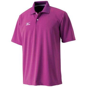 ポロシャツ(85マゼンタ)【MIZUNO】ミズノ野球 新入部員向けおすすめ品(A75HM13085)*30