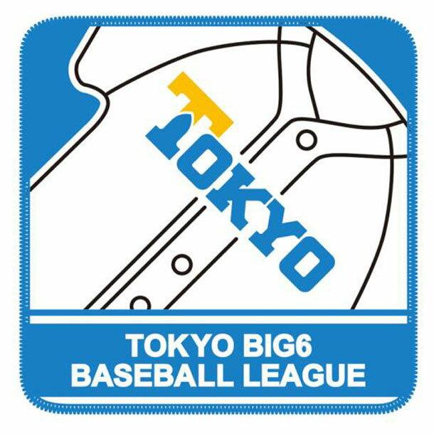 【東京六大学野球】大学ハンカチタオル (東京)【MIZUNO】ミズノ野球 アクセサリー タオル (12JRXW0506)*00