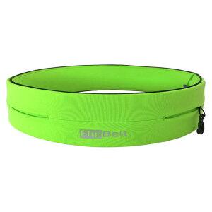スポーツウエストポーチ ネオングリーン(NEON GREEN)【Flip Belt】フリップベ…
