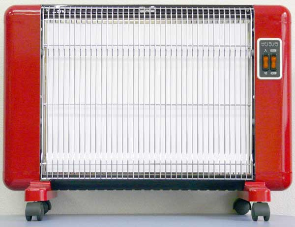 サンラメラ 606型 Fレッド 8畳まで用 600W  遠赤外線ヒーター 暖房機