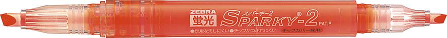 ◆ ◆ fluorescent Sparky 2 Orange