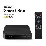 ピクセラ(PIXELA) Smart Box (スマートボックス オンラインモデル) Android TV 4K HDR Google Cast機能搭載 YouTube(TM)対応 PIX-SMB100