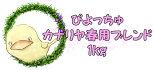 ぴちょっちゅカナリヤ春用1kg