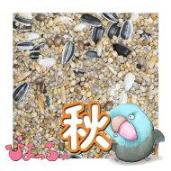 ぴちょっちゅラブマメ中型インコ秋用1kg×5