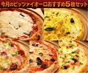 【送料無料】今月のピッツァイオーロおすすめナポリピザ5枚セット