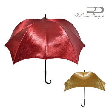 雨傘 ユニセックス DiCesare Designs ディチェザレ デザイン 『パンプキンブレラ ウォーカー キルティング ジャカード』 傘 晴雨兼用傘 かさ カサ 日傘 umbrella 婦人傘 デザイン傘 長傘 紳士用傘 メンズ傘 レディース メンズ おしゃれ かわいい プレゼント