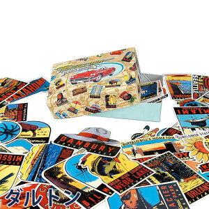 ダルトン オールドステイツステッカー ラッピング ステッカー アメリカ カントリー おしゃれ アメリカン スーツケース