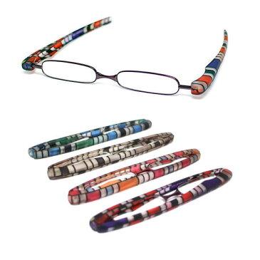 老眼鏡 折りたたみ おしゃれ 正規品 ポッドリーダー カラフルパープル