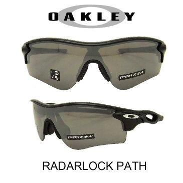 OAKLEY オークリー サングラス (アジアンフィット) レーダーロックパス ポリッシュドブラック/プリズムブラックイリジウム 野球 ゴルフ(Sunglasses RADARLOCK PATH 9206-4138 Polished Black/Prizm Black Iridium)