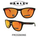 【国内正規品】(アジアンフィット)OAKLEY オークリー サングラス フロッグスキン マットブラック/プリズムルビー 野球 ゴルフ(Sunglasses FROGSKINS 9245-6354 Matte Black/Prizm Ruby)
