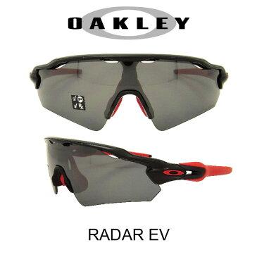 OAKLEY オークリー サングラス (アジアンフィット) レーダEV ポリッシュドブラック/ブラックイリジウムポラライズド(偏光レンズ) 野球 ゴルフ(Sunglasses RADAR-EV 9275-06 Polished Black/Black Iridium Polarized)