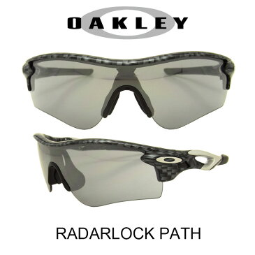 OAKLEY オークリー サングラス (アジアンフィット) レーダーロックパス カーボンファイバー/スレイトイリジウム 野球 ゴルフ(Sunglasses RADARLOCK PATH 9206-11 Carbon Fiber/Slate Iridium)