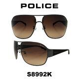 グローバル モデル 国内正規品POLICE(ポリス) ポリス サングラス メンズ S8992K 568Y 人気モデル UVカット ティアドロップ ドライブ