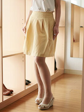 【 SALE 】 deux mille ans(ドゥミルアンズ)ライトタフタプリーツ スカート