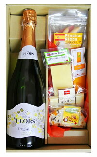 ギフト スペイン  カヴァ  スパークリングワイン&     チーズとピコス5種セット
