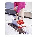 ▽【送料無料】【コンパル】搭載ショベルレッド 収納袋付 【除雪 雪かき スノーシ