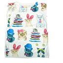送料無料 カットソー Tシャツ 猫 ネコ ねこ にゃんこ ゆめかわいい フレンチスリーブ パラダイス キッチュ CAT おしゃれキャットパステル タンクトップ風 デザインTシャツ