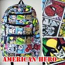 かわいいリュックアメコミリュックAmericanheroアメコミハルクスパイダーマンシルバーサーファースーパーマンキャプテンアメリカ個性派ディパックトラベルリュックサックレディース男子におすすめ