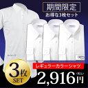 ★セット販売★ ワイシャツ 長袖 形態安定 メンズ 標準型 ...