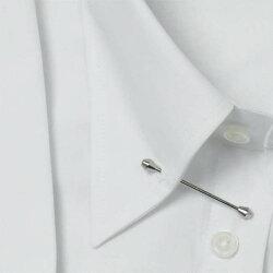 軽井沢シャツ[R10KZZP01]メンズ長袖ビジネスシャツ(形態安定シャツ)ピンホールカラー255サイズピンホールカラーバック-サイドタックフォーマル形態安定【送料無料】