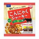 噛むたびおいしい満腹感!【送料無料】DHC こんにゃくジャーキー スモークビーフ味 12g【さ...