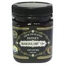 【送料無料】UMF マヌカハニー 15+ (37ハニー)250gマヌカハニー 15+ 100%ハチミツ 蜂蜜 ニュージーランド産 蜂の巣 マヌカ・ファクター MANUKA HONEY はちみつ 送料無料